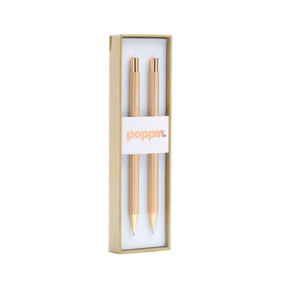 Gilded mechanical pencils