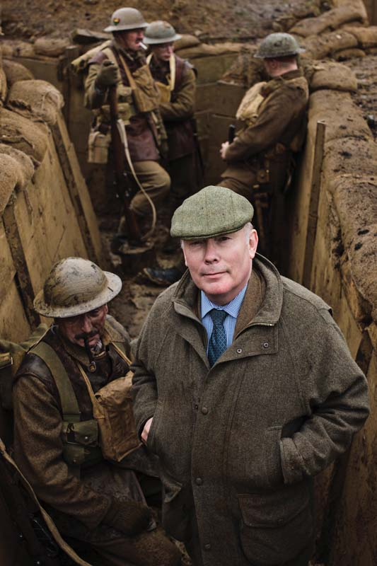 Julian-Fellowes-Trenches- credit- Nick Briggs and Courtesy of Carnival Films-