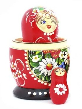 Package a story pitch - russian nesting doll