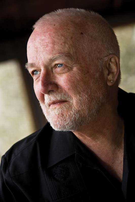 Author Russell Banks. photo by Nancie Battaglia