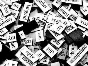 Words - Photo by Steve Johnson via flickr