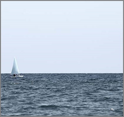 Normal sailboat