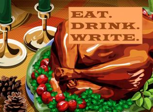 Food writing.