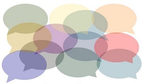 speech bubbles writing prompt