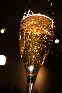 champagne new year writing prompt