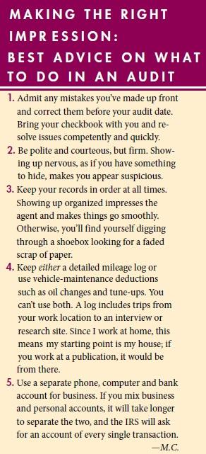 tax audit best practice