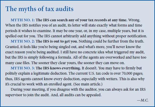 tax audit myths