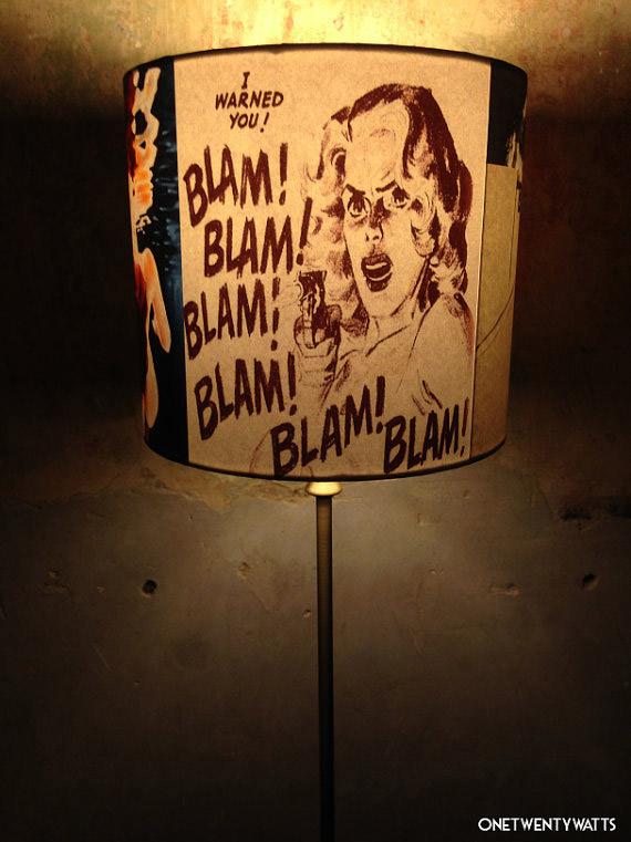 pulp fiction lamp