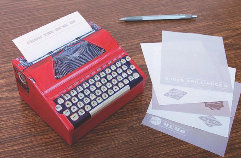 typewriter-pad