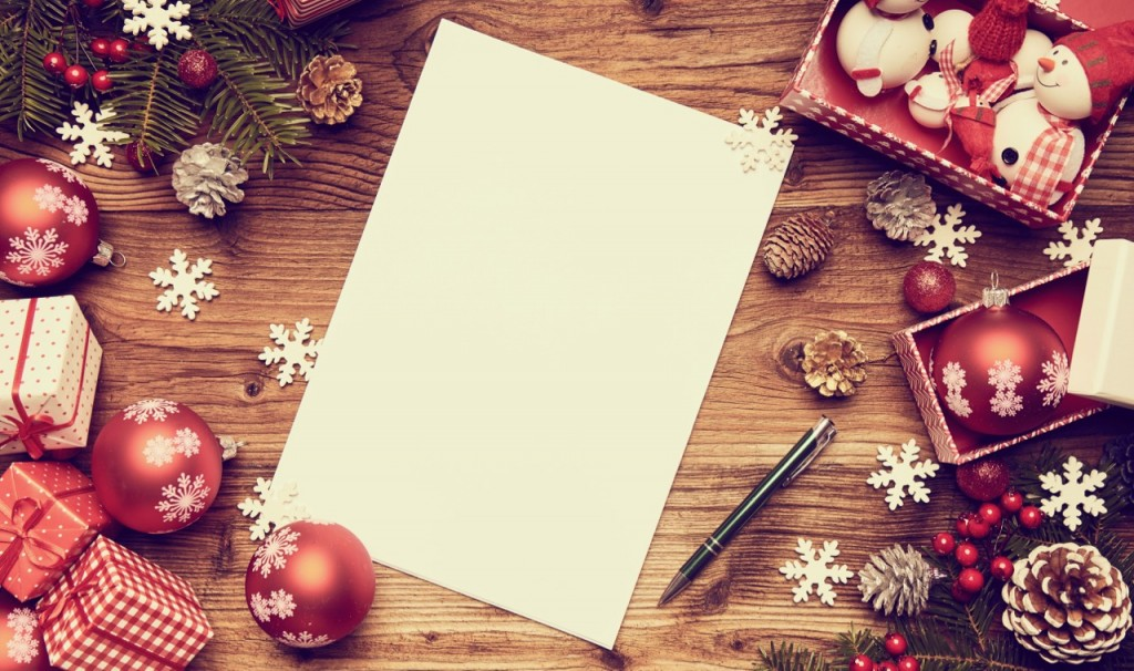 Christmas list writing prompt